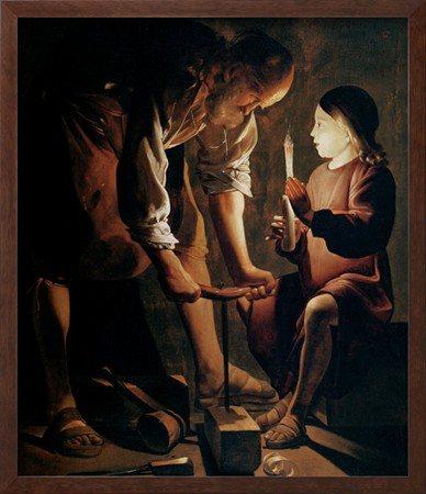 Imagem de São José e o Menino Jesus