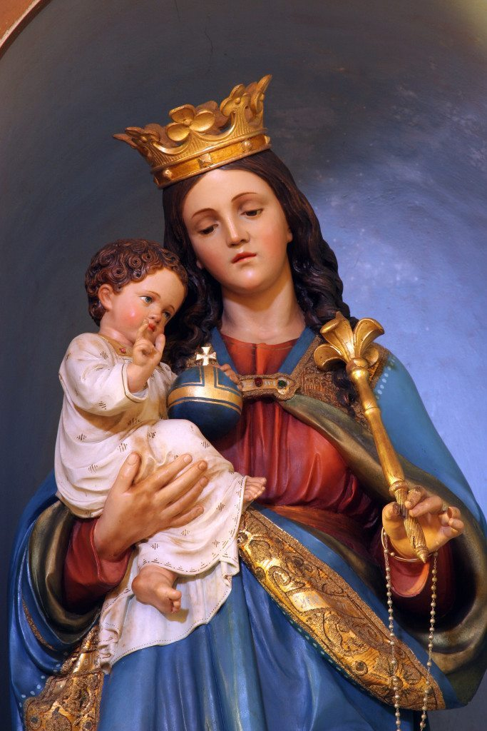 Imagens Da Santa Virgem Maria Com O Menino Jesus Imagens