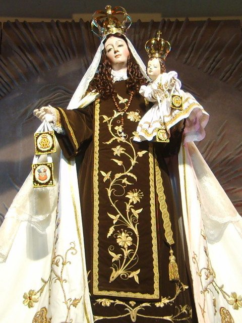 Virgem Nossa Senhora do Carmo