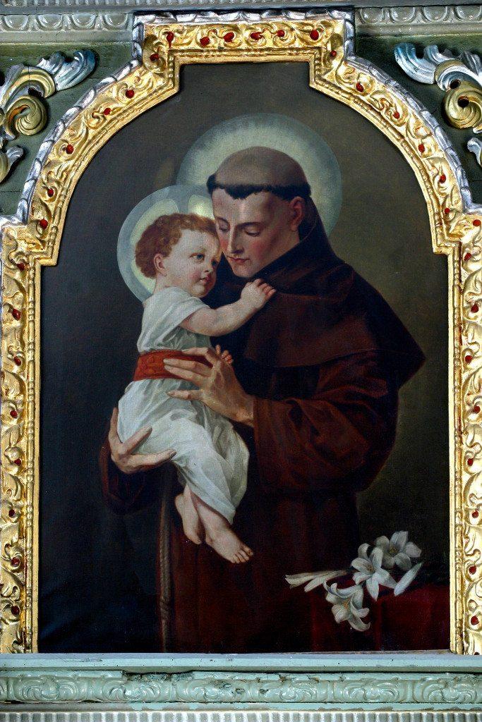 Santo Antônio de Pádua com o Menino Jesus